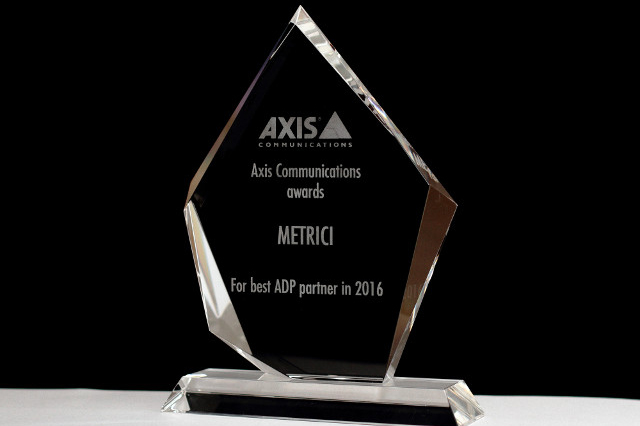 Metrici LPR, awarded by Axis Communications