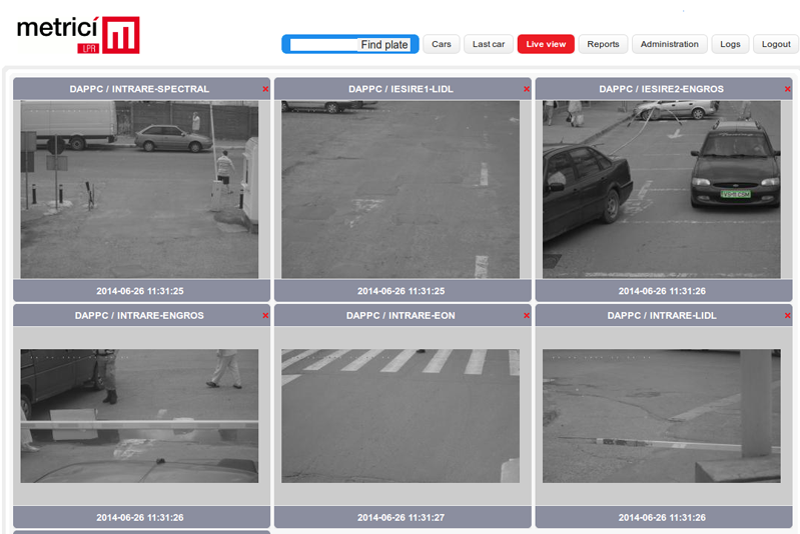 Metrici LPR - License plate recognition on Axis, Hikvision